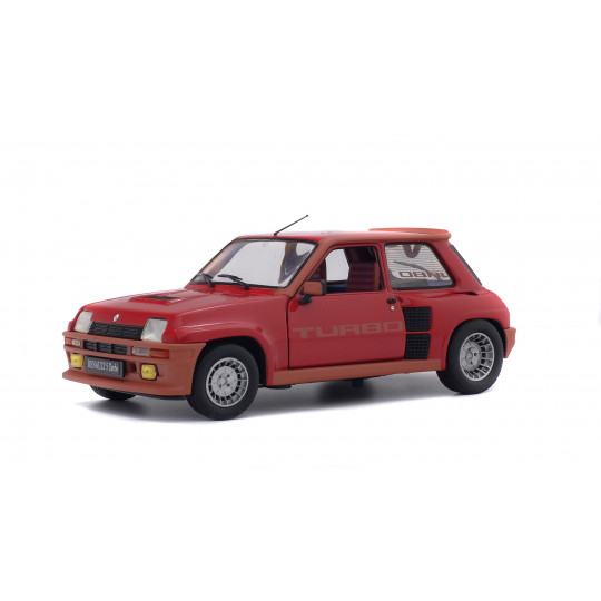 RENAULT R5 Turbo rouge grenade 1981 1/18 SOLIDO