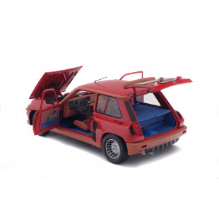 RENAULT R5 Turbo rouge grenade 1981 1/18 SOLIDO