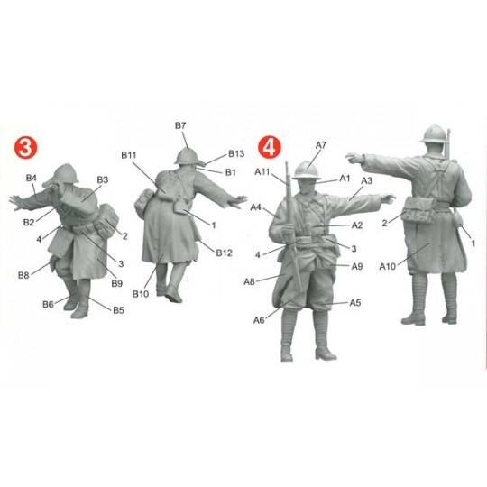 Infanterie française Sedan 1940 1/35 DRAGON
