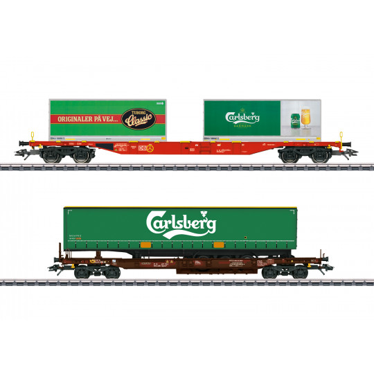 SET 2 Wagons...