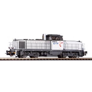 LOCOMOTIVE DIESEL DIGITAL SON SNCF ETF BB 60000 HO 1/87 PIKO EXPERT