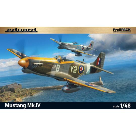 P-51Mustang Mk.IV  1/48 EDUARD ProfiPACK