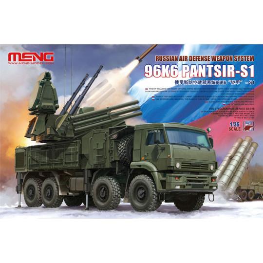 Russian Air Defense Weapon System 96K6 Pantsir-S1 1/35 MENG