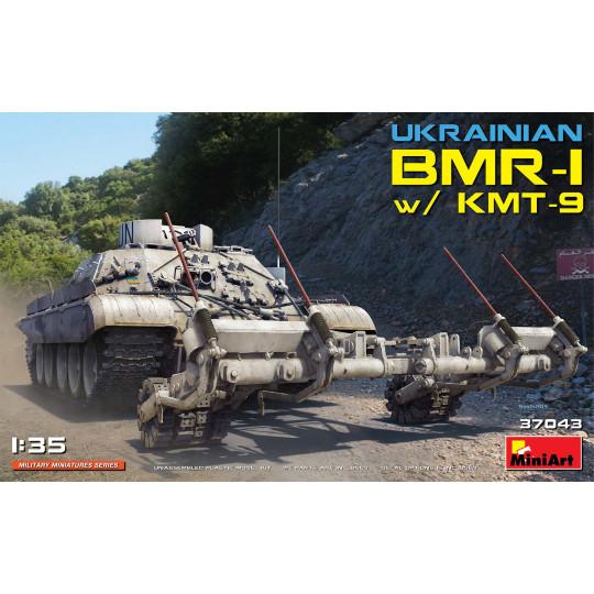Ukraine BMR-1 w/KMT-9 1/35 MINIART