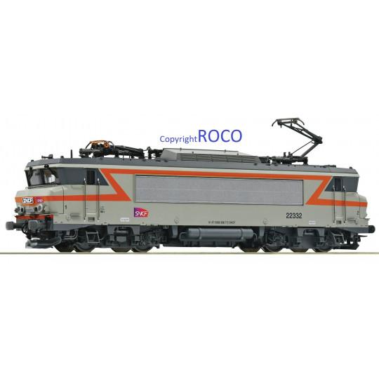 """Loco Electrique Digital SON  BB 22000 22332 """"Béton"""" SNCF 1/87ème HO ROCO"""