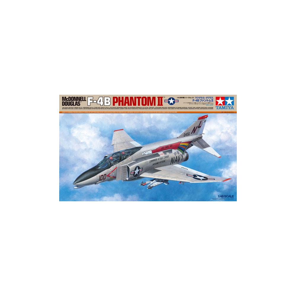McDONNELL DOUGLAS F-4B Phantom II 1/48 TAMIYA