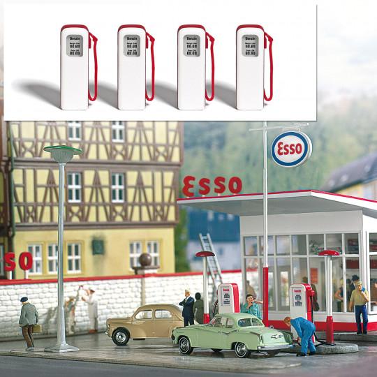 Pompes à essence 1/87 HO BUSCH