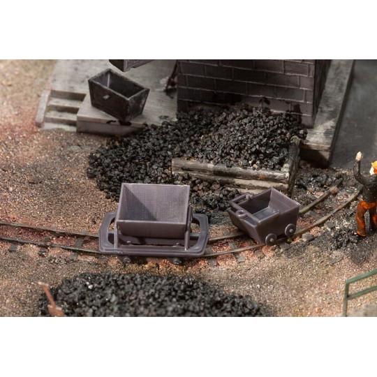 wagonnets et berlines 1/87 HO FALLER