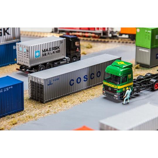 "Container 40 pieds ""Cosco""..."