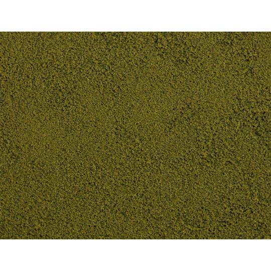 Flocons de terrain Premium fin,vert olive 45g FALLER