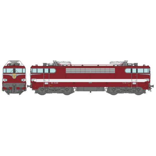 Locomotive électrique BB 9200 9288 CAPITOLE SNCF 1/87ème HO REE