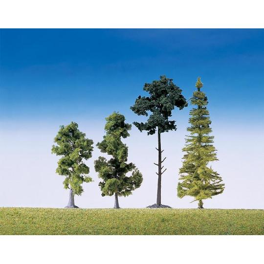 Assortiment de 15 arbres de...