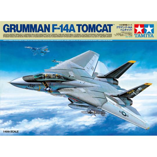 GRUMMAN TOMCAT F14 A 1/48 TAMIYA