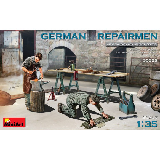 Réparateurs allemands 1/35 Miniart