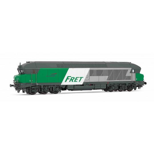"Locomotive Diesel CC 72000 472010 ""Fret"" SNCF 1/87 HO JOUEF"