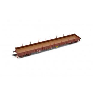 Wagon plat bogies Res SNCF 1/87 HO JOUEF