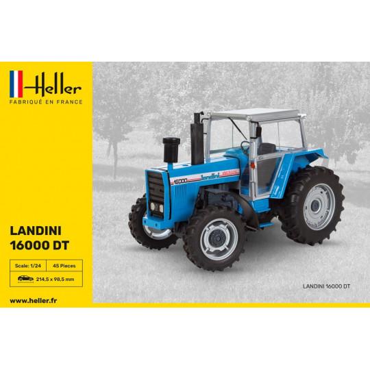 Tracteur LANDINI 16000 DT 1/24 HELLER
