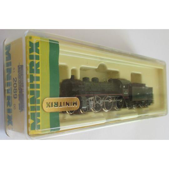 Locomotive vapeur Nord 3-1690 SNCF 230E 1/160 N TRIX minitrix