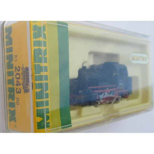 Locomotive vapeur Br89 1/160 N TRIX minitrix