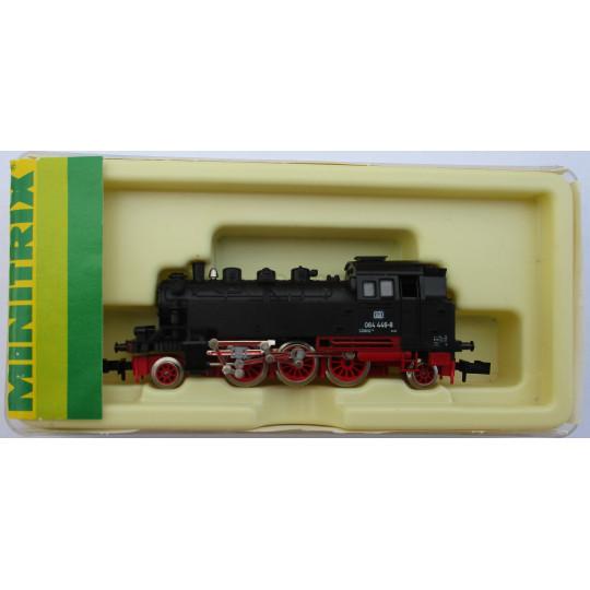 """Locomotive vapeur DB Br64 """"Bubikopf"""" 1/160 N TRIX minitrix"""