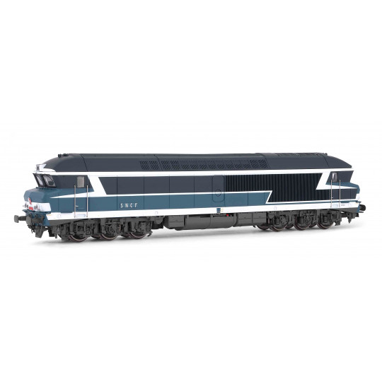 "Locomotive Diesel CC 72000 72034 ""bleu"" SNCF 1/87 HO JOUEF"