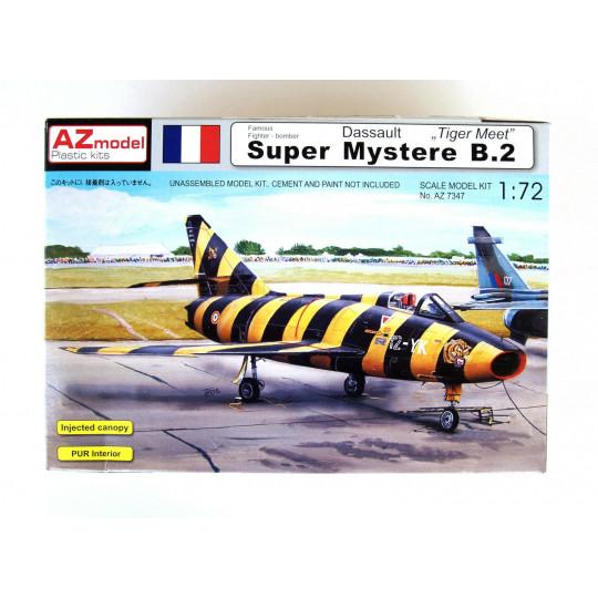 "DASSAULT Super Mystere B2 ""Tiger Meet"" France 1/72 AZ Model"
