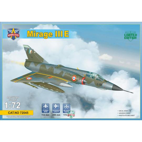 Dassault Mirage III E 1/72 MODELSVIT