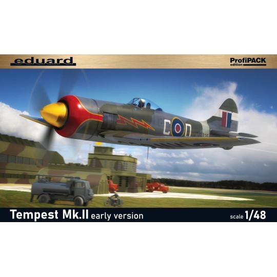 Hawker TEMPEST Mk.II 1/48  EDUARD ProfiPACK
