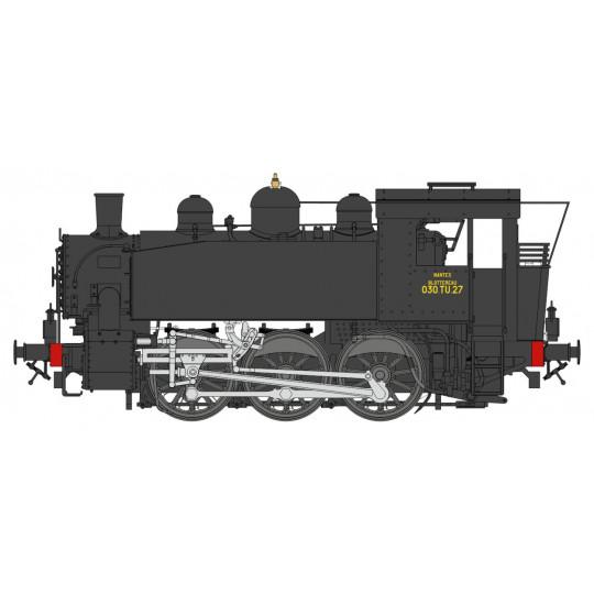 Locomotive vapeur 030 TU SNCF digital SON 1/87 HO REE