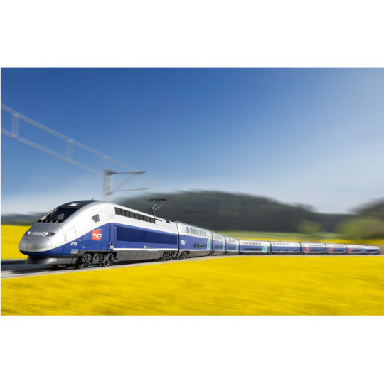 Autorail électrique Digital SON COFFRET TGV Euro Duplex SNCF 1/87ème HO