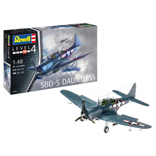 Douglas Dauntless USNavy SBD-5 1/48 REVELL