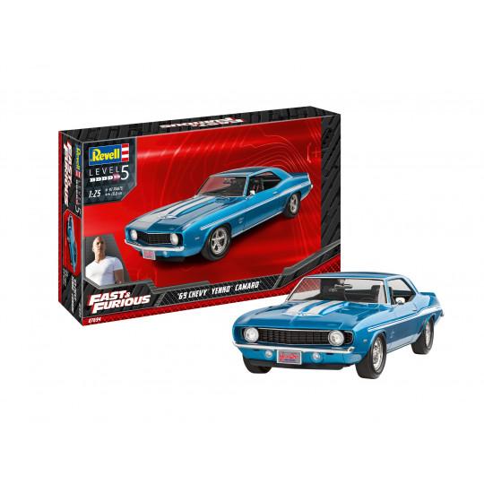 Fast & Furious Chevy Camaro 1969 Yenko 1/24 REVELL