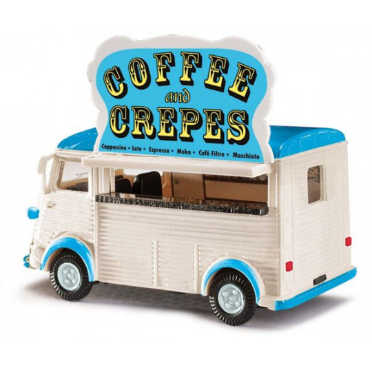 "CITROEN H ""crèpes and coffee"" 1/87 BUSCH"