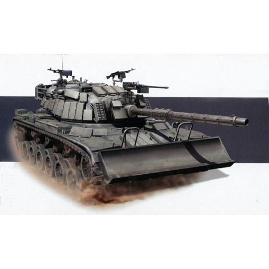Char M60 Patton IDF Israël avec lame Dozer 1/35 DRAGON