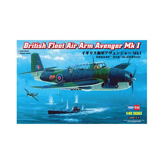 Grumman TBF/TBM Avenger 1/48 HOBBY BOSS