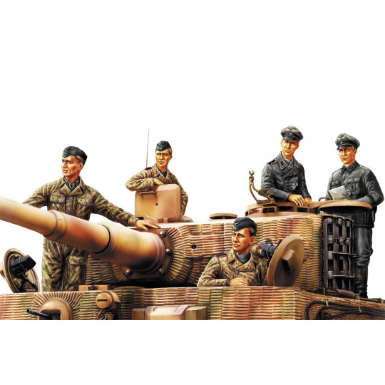 Equipage Panzer allemand Normandie 44 1/35 HOBBYBOSS