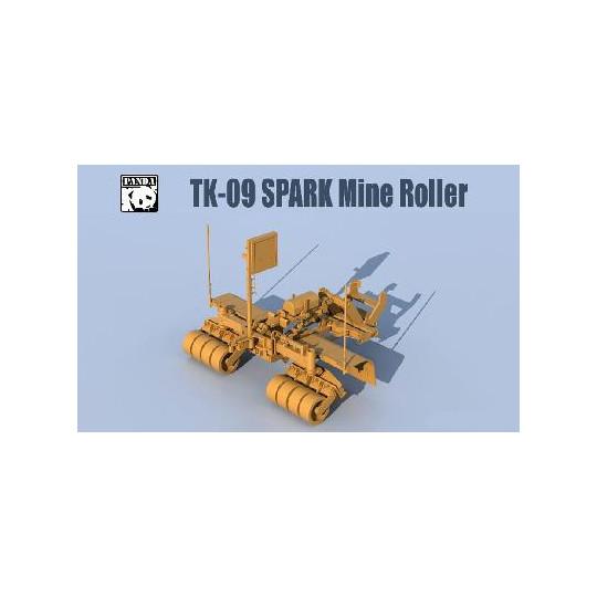 """Système de déminage type """"SPARK"""" us 2019 1/35 PANDA"""