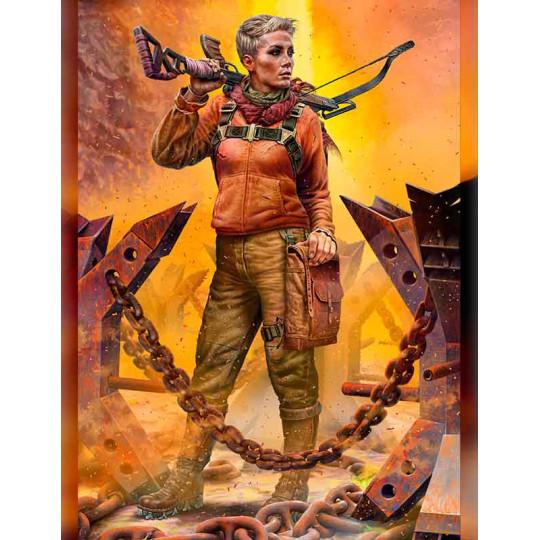 Skull clan - Desert battle 2 - A new leader Hanna   1/35 MASTER BOX